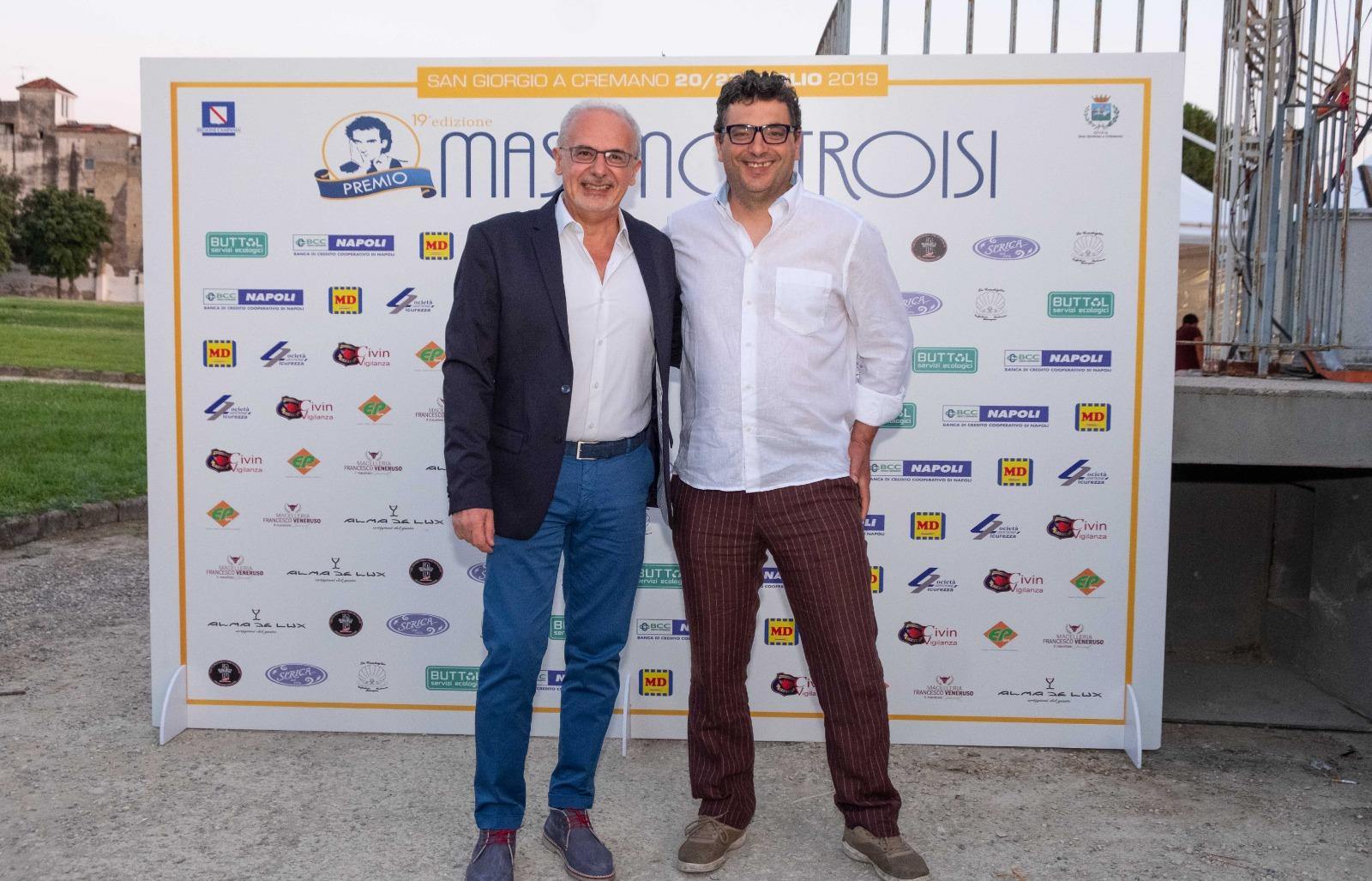 Premio Massimo Troisi | C&S | Ufficio Stampa Signorelli
